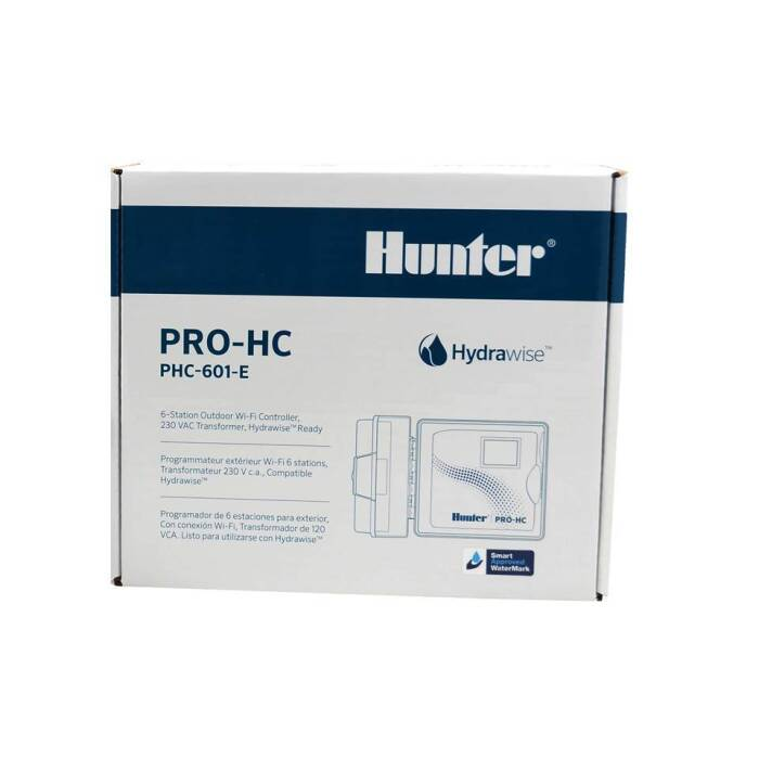 Hunter PRO-HC-601 outdoor Hydrawise Controller 6 Zonen...